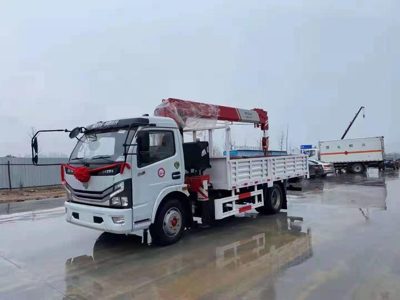 多利卡D7国六长兴7吨直臂随车吊
