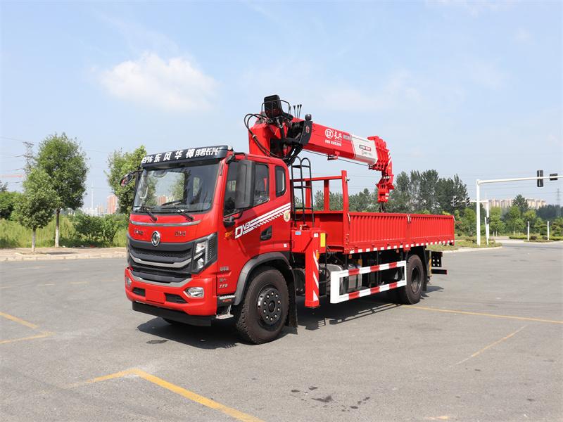 东风华神DV3长兴8吨直臂随车吊全方位高清图展示