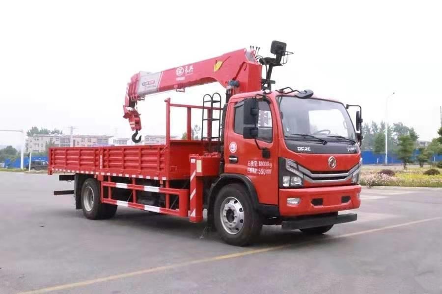 多利卡D8单排长兴8吨随车吊全方位高清图展示