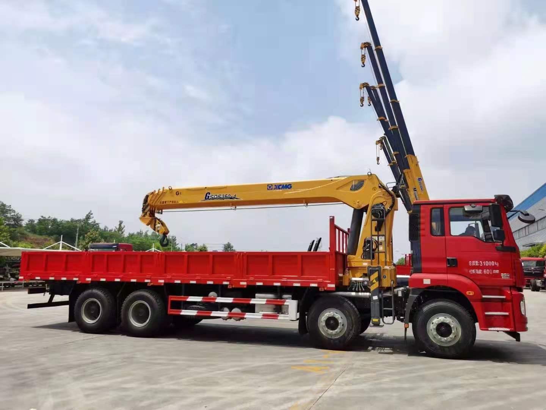 华神DV5前四后八徐工12吨随车吊全方位高清图展示