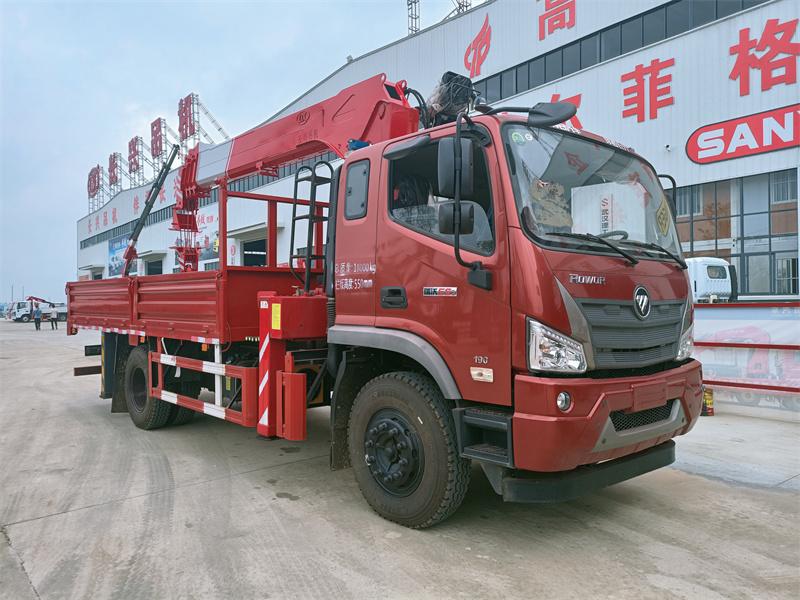 福田瑞沃ES3长兴7吨直臂随车吊全方位高清图展示