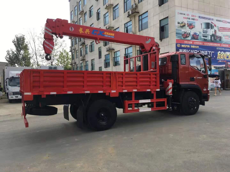 福田瑞沃ES3长兴6.3吨直臂随车吊全方位高清图展示