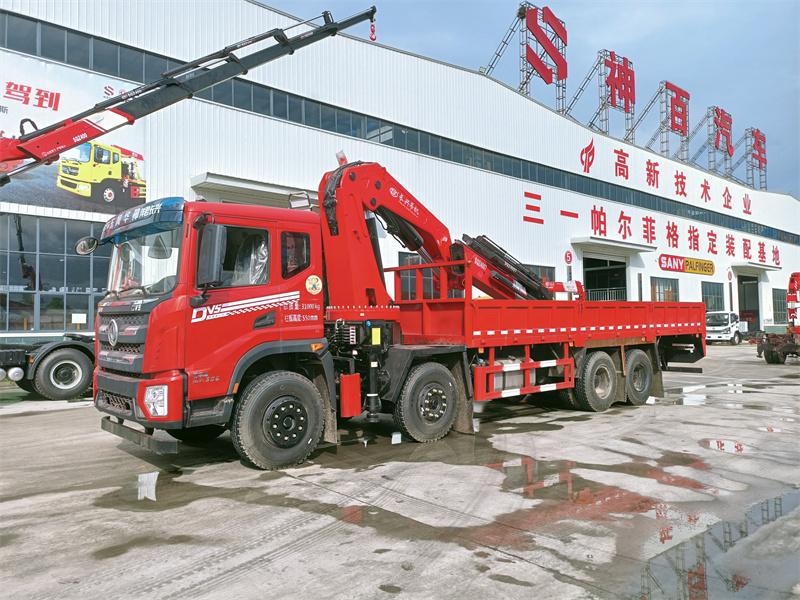 东风华神DV5长兴25吨折臂随车吊全方位高清图展示