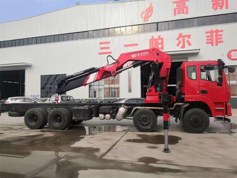 东风锦程长兴30吨折臂吊机全方位高清图展示