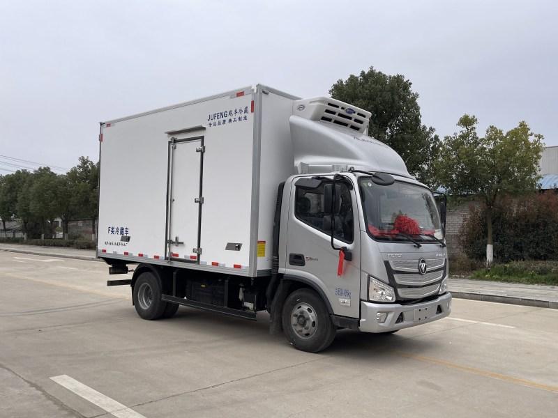国六福田欧马可4.2米冷藏车图片