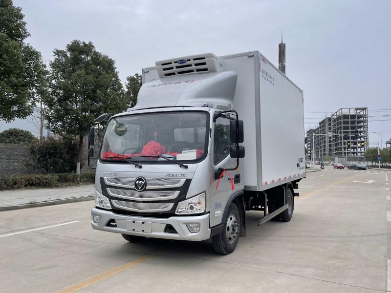 国六福田欧马可4.2米冷藏车图片五