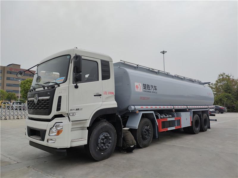 东风天龙20吨普货油罐车 20吨普货供夜车价格 四轴洗井液车 普通液体罐式运输车直销