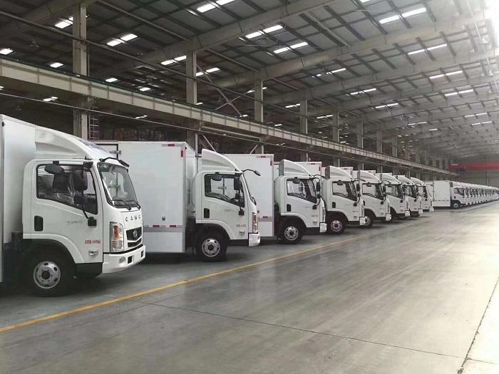 国内大型集团采购的冷藏车