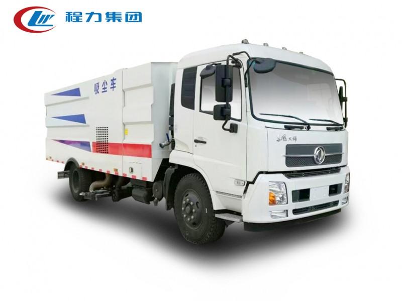 东风天锦12方吸尘车