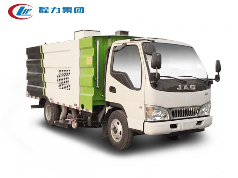 江淮康铃小型5方吸尘车图片
