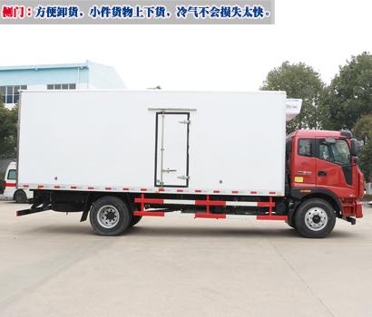 侧门:方便卸货,小件货物上下货,冷气不会损失太快。