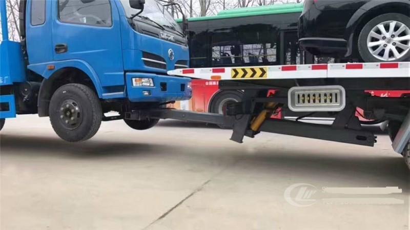 东风D9一拖三清障车