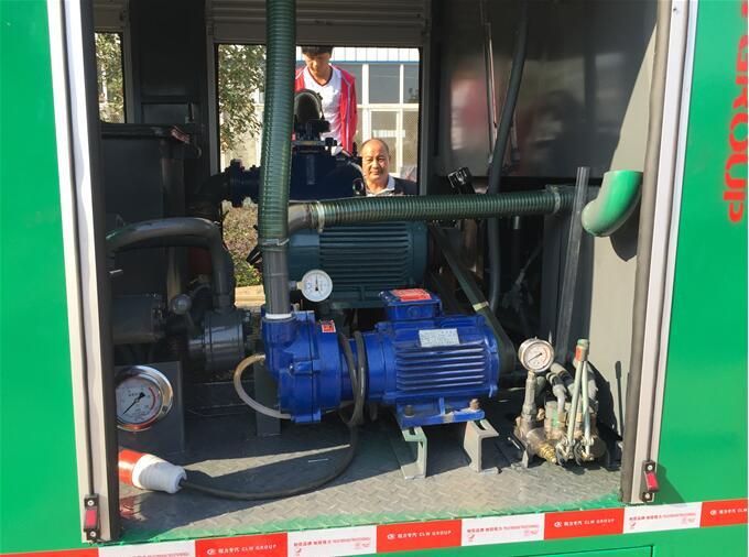 CLW5040TWC4型污水处理车火力全开