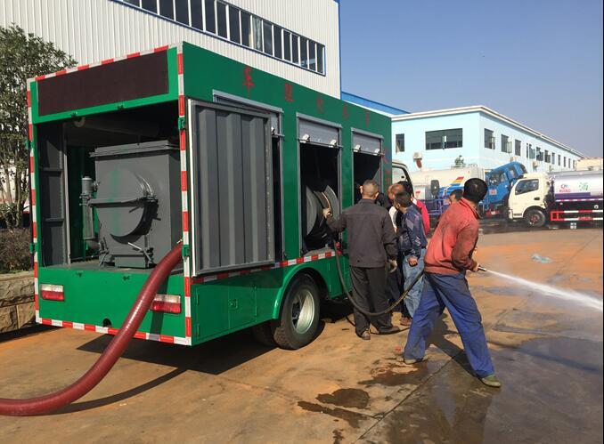 程力污水处理车全自动处理污水