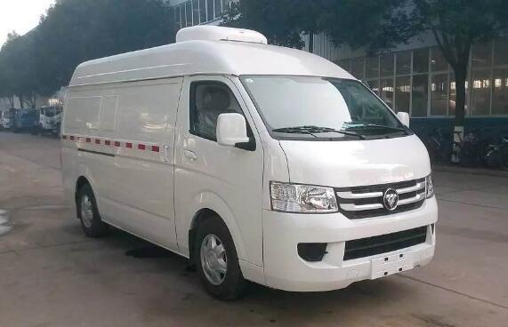 国五面包冷藏主力军-福田G7冷藏车