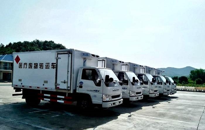 江铃(国五)医疗废物转运车批发价格
