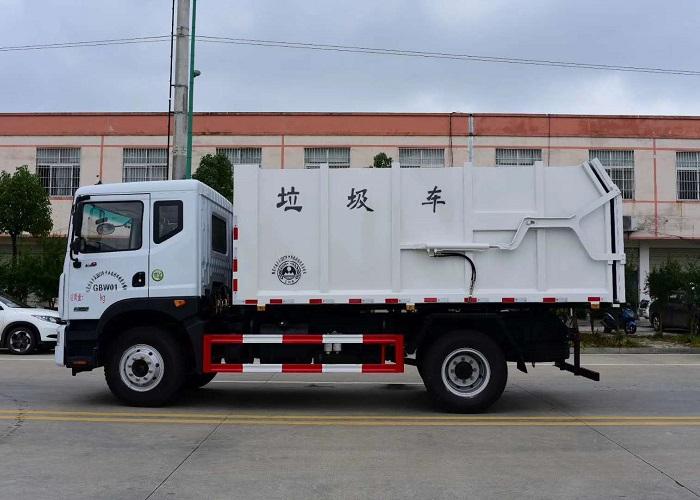 东风多利卡D9压缩式对接垃圾车图片四