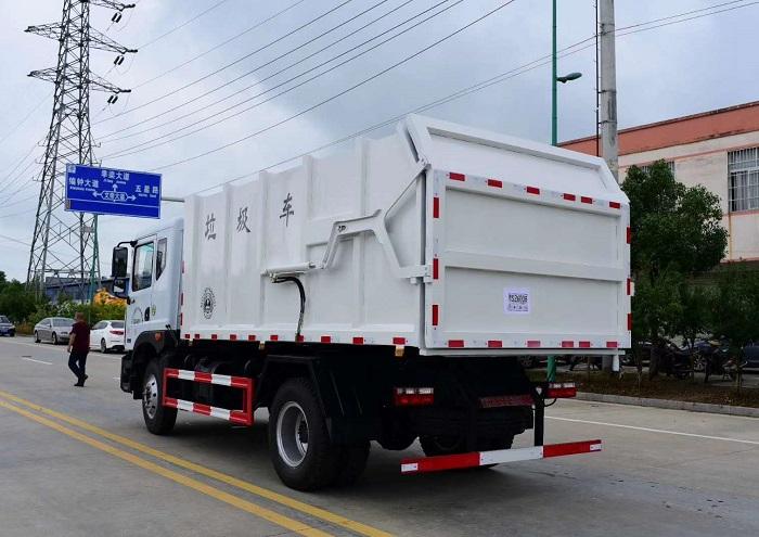 东风多利卡D9压缩式对接垃圾车图片六