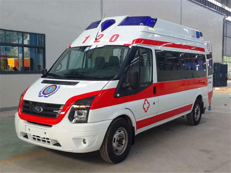 新世代超人高顶监护型救护车图片
