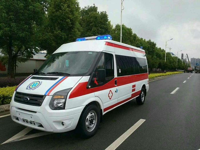 新世代V348长轴中顶监护型救护车图片
