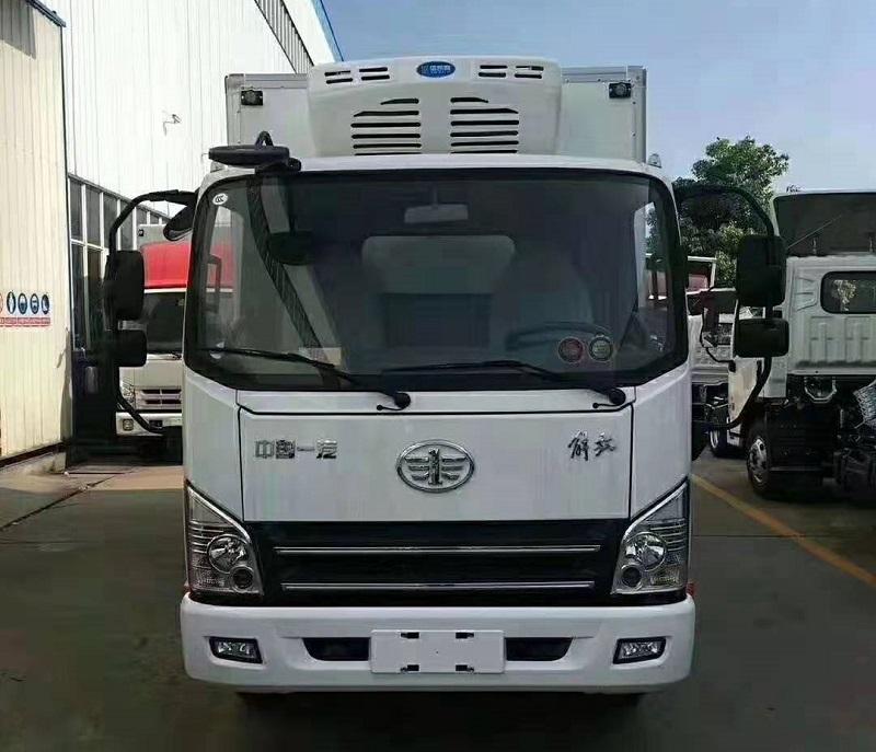 解放虎VH4.2米冷藏车图片