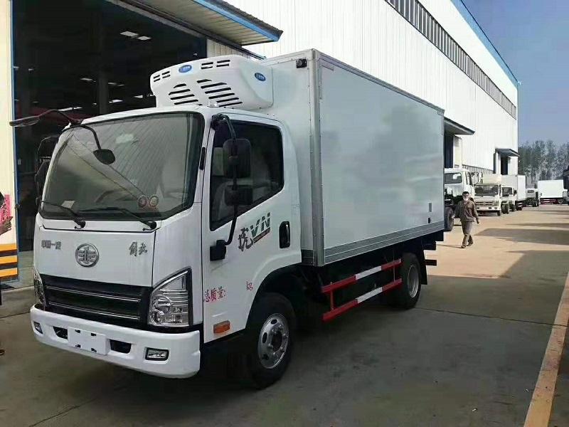 解放虎VH4.2米冷藏车