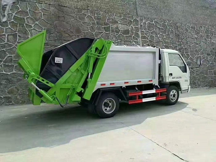 福田时代小卡之星3多功能4方压缩垃圾车图片三