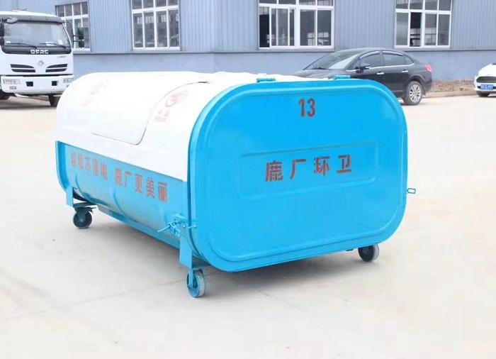 东风小康2.5-3方勾臂垃圾车图片八