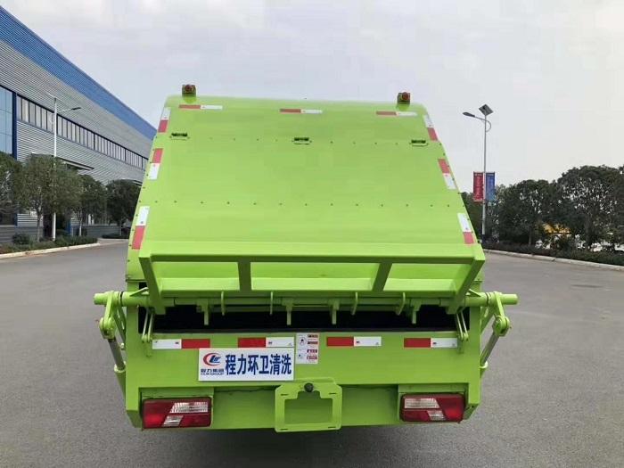 江铃凯锐8方后装压缩式垃圾车图片八
