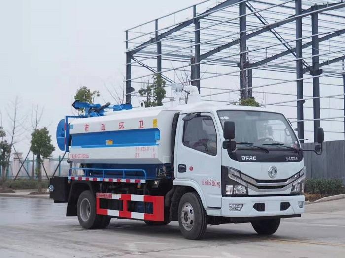 国六东风多利卡6.2方清洗吸污车图片
