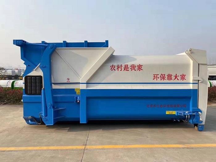 东风天锦16吨勾臂式垃圾车图片六