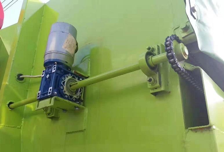 东风20吨建筑垃圾勾臂车20T伸缩套臂图片六