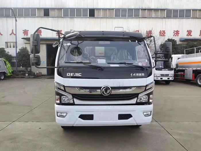 东风多利卡K7国六8方后装压缩式垃圾车图片九