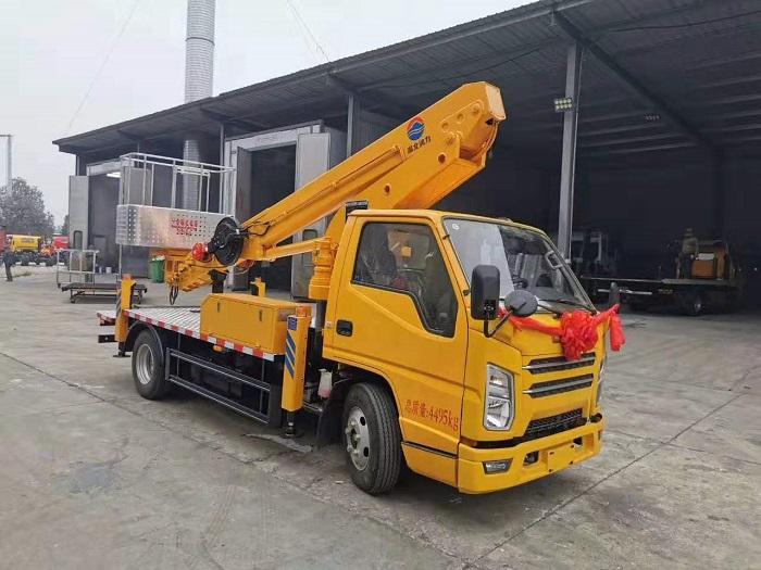 江铃国六蓝牌21米(17.5米)高空作业车