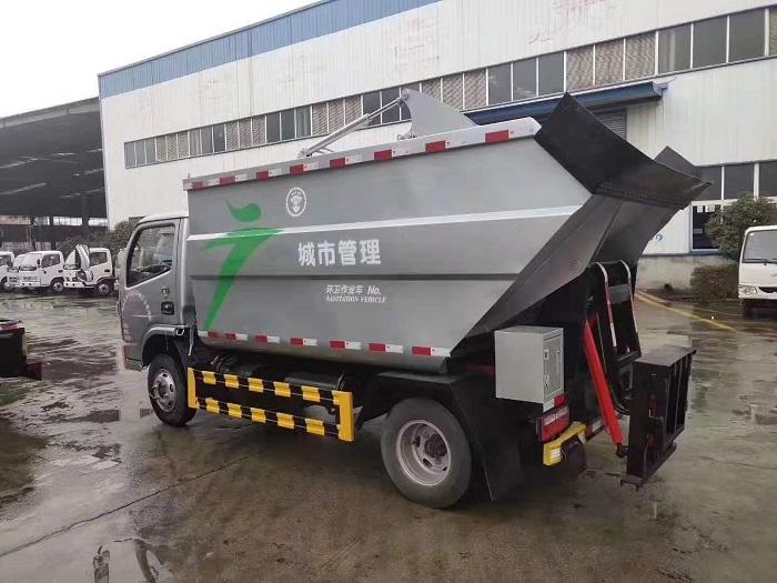 东风国六无泄露垃圾车图片三