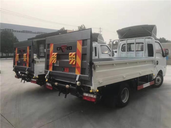 国六东风途逸桶装(15桶240L)垃圾运输车