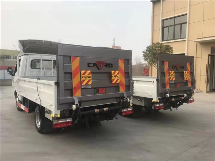 国六东风途逸桶装(15桶)垃圾运输车图片五