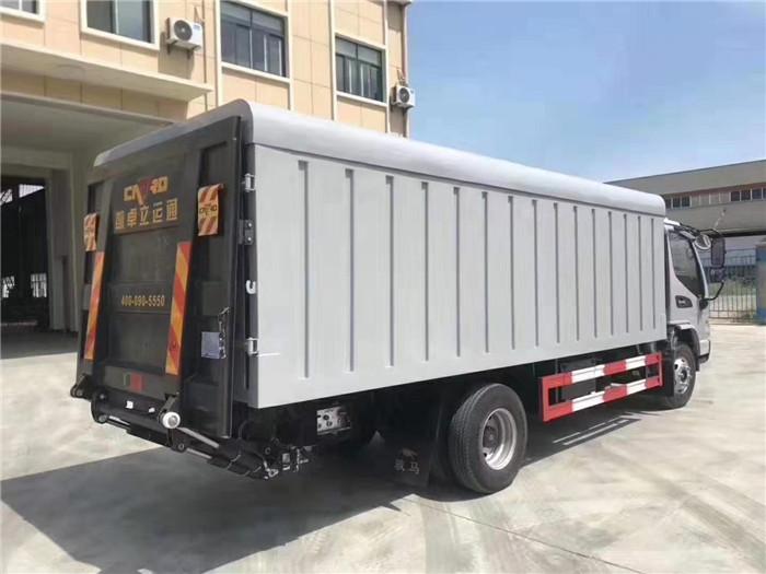 江淮21桶桶装垃圾车(240升垃圾桶)图片三