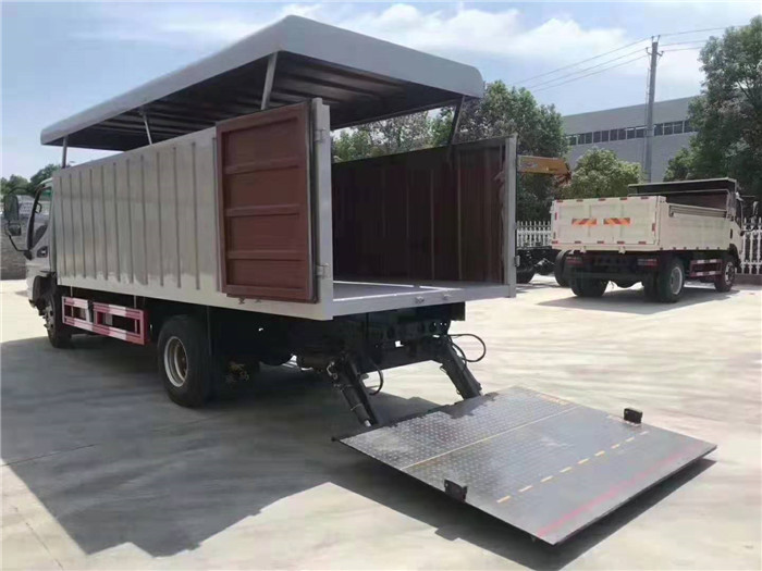 江淮21桶桶装垃圾车(240升垃圾桶)图片五