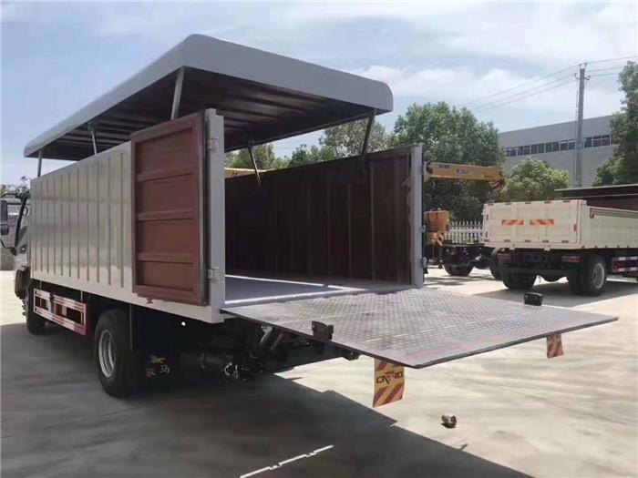 江淮21桶桶装垃圾车(240升垃圾桶)图片六