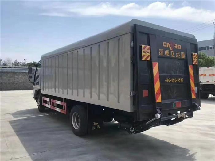 江淮21桶桶装垃圾车(240升垃圾桶)图片七