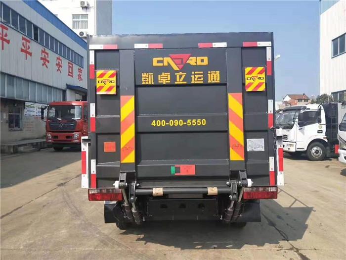 东风小多利卡桶装垃圾运输车图片五
