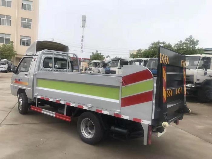 凯马锐菱8-10桶240L桶装垃圾运输车图片五