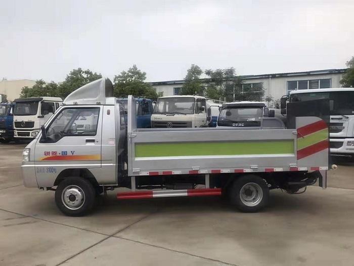 凯马锐菱8-10桶240L桶装垃圾运输车图片八