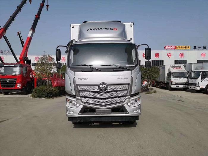 欧马可S5国五6.6米冷藏车图片二