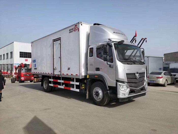 欧马可S5国五6.6米冷藏车图片三