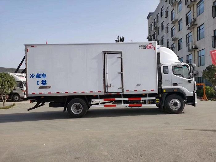欧马可S5国五6.6米冷藏车图片四