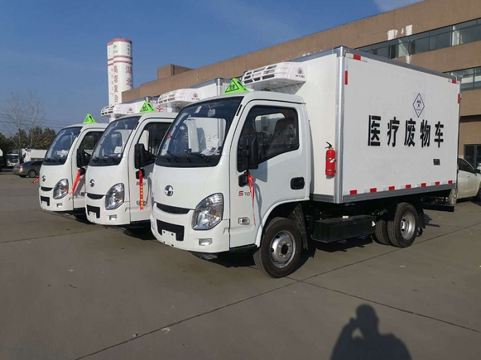 国六跃进小福星3米2医疗废物转运车图片三