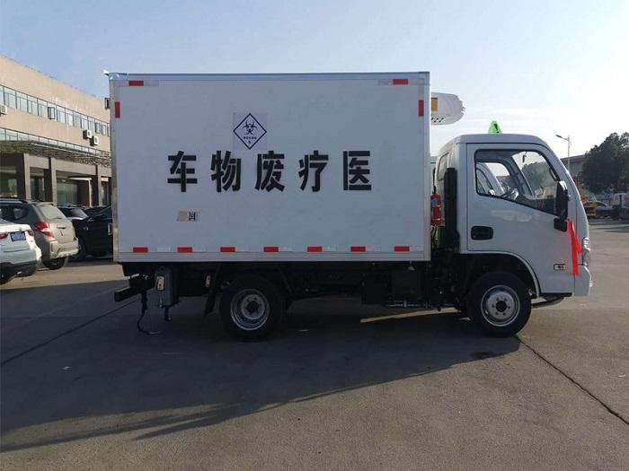 国六跃进小福星3米2医疗废物转运车图片五