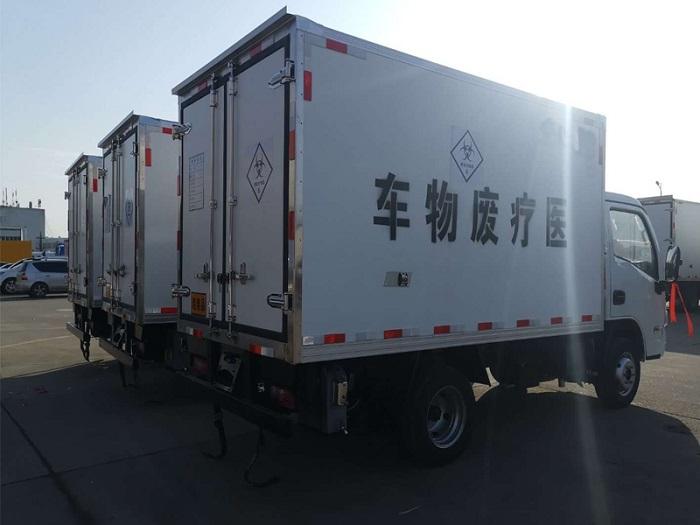 国六跃进小福星3米2医疗废物转运车图片六